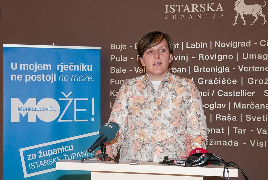 Monika Udovičić, kandidatkinja HDZ-a za istarsku županicu